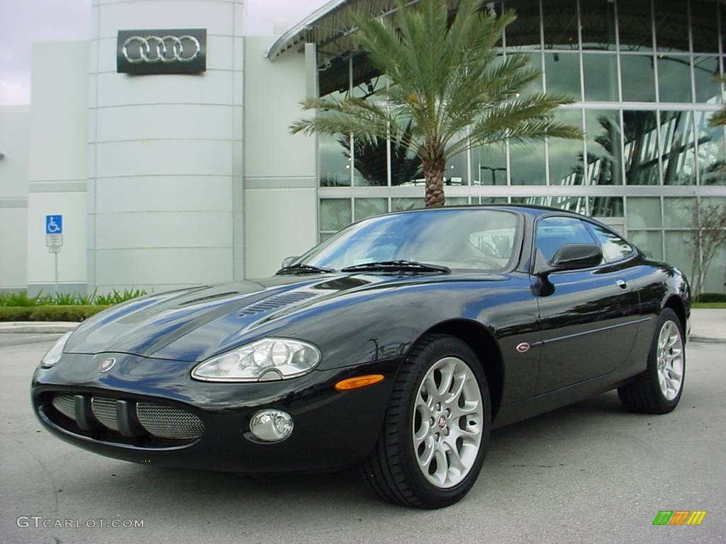 Anthracite Metallic Jaguar Xk