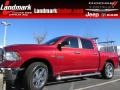 Deep Cherry Red Pearl 2013 Ram 1500 Big Horn Crew Cab
