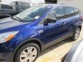2014 Deep Impact Blue Ford Escape S  photo #2