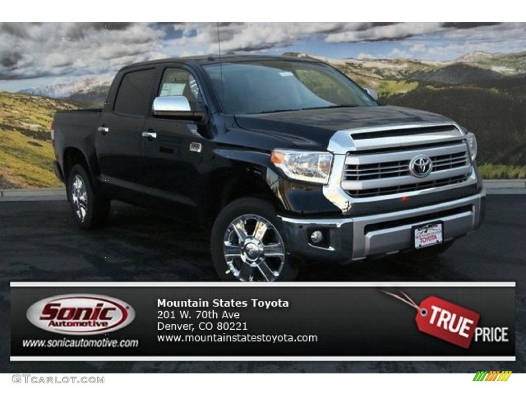 Attitude Black Metallic Toyota Tundra