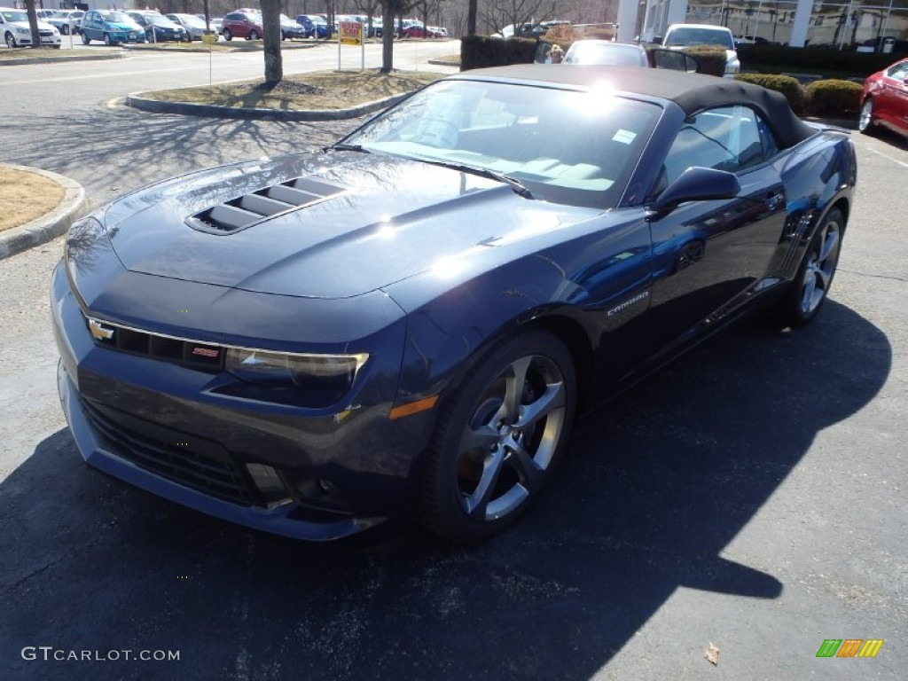 2014 blue ray metallic chevrolet camaro ss rs convertible. Black Bedroom Furniture Sets. Home Design Ideas
