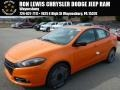 2014 Header Orange Dodge Dart SXT #91493853
