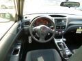 2014 Subaru Impreza STI Black Alcantara/ Carbon Black Leather Interior Dashboard Photo