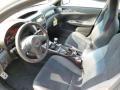2014 Subaru Impreza STI Black Alcantara/ Carbon Black Leather Interior Interior Photo