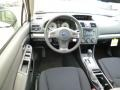 2014 Subaru Impreza Black Interior Dashboard Photo