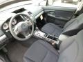 2014 Subaru Impreza Black Interior Prime Interior Photo