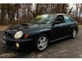 Midnight Black Pearl 2002 Subaru Impreza Gallery