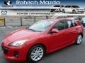 Velocity Red Mica 2012 Mazda MAZDA3 s Touring 5 Door