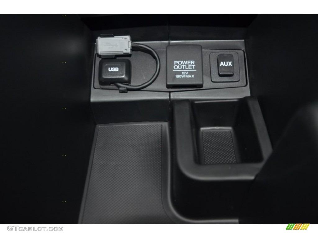 2014 CR-V LX - Urban Titanium Metallic / Black photo #15