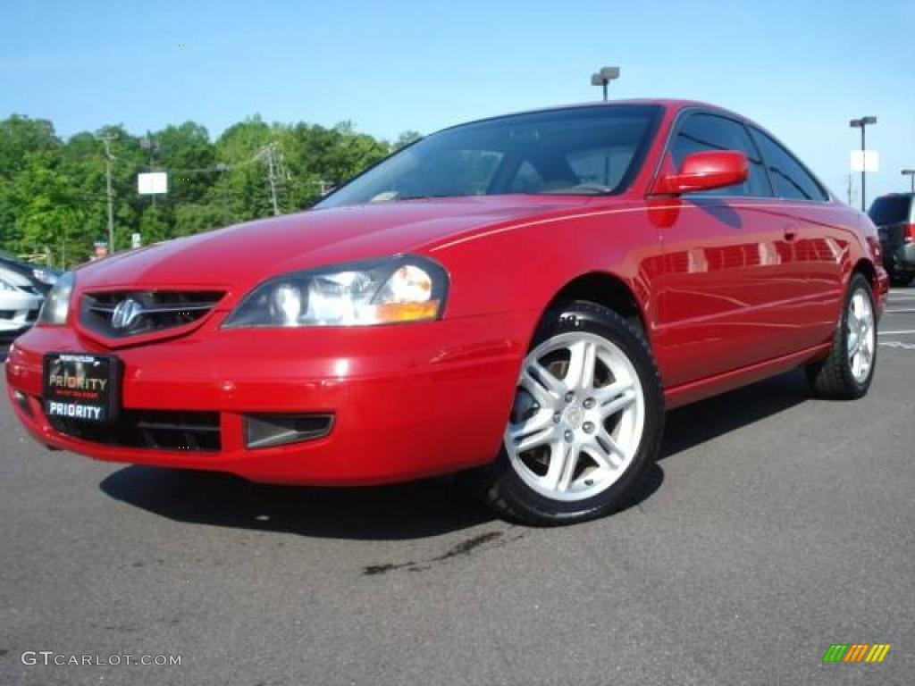 2003 san marino red acura cl 3 2 type s 9108522. Black Bedroom Furniture Sets. Home Design Ideas