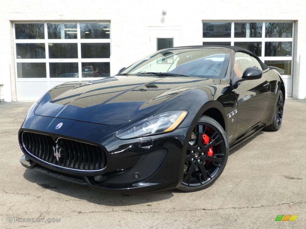 2014 Nero (Black) Maserati GranTurismo Convertible ...