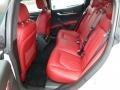 Nero/Rosso 2014 Maserati Ghibli Interiors