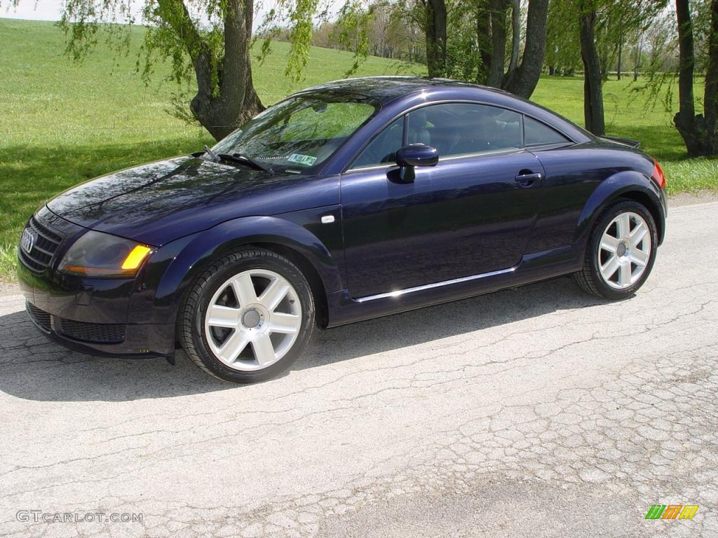 2003 ocean blue pearl effect audi tt 1 8t coupe 9111743. Black Bedroom Furniture Sets. Home Design Ideas