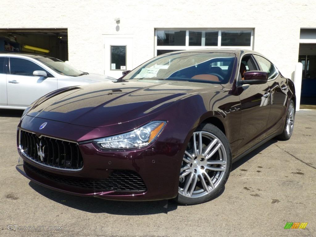 Rosso Folgore Dark Red 2014 Maserati Ghibli S Q4 Exterior Photo 91576598