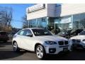 Alpine White 2011 BMW X6 xDrive35i