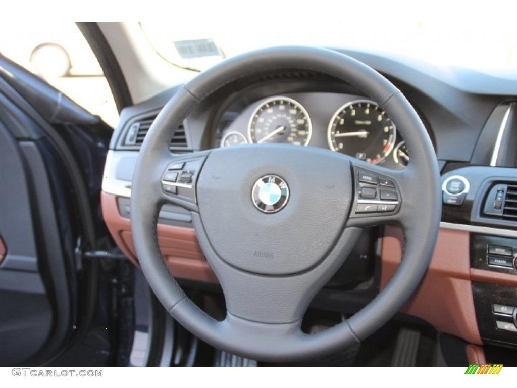 2014 Bmw 5 Series 528i Xdrive Sedan Cinnamon Brown