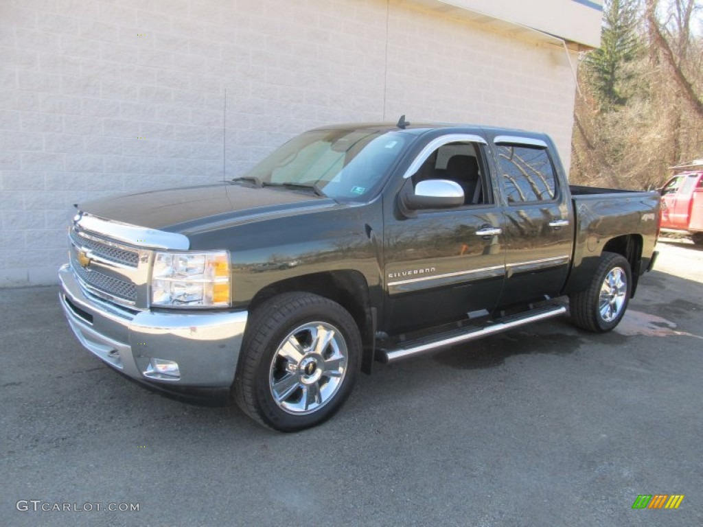 2013 Silverado 1500 LT Crew Cab 4x4 - Fairway Metallic / Ebony photo #1