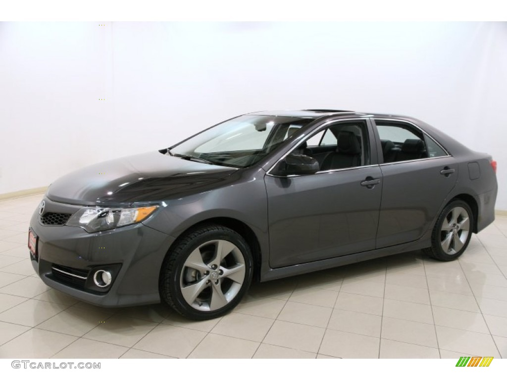 magnetic gray metallic 2012 toyota camry se v6 exterior photo 91585979. Black Bedroom Furniture Sets. Home Design Ideas