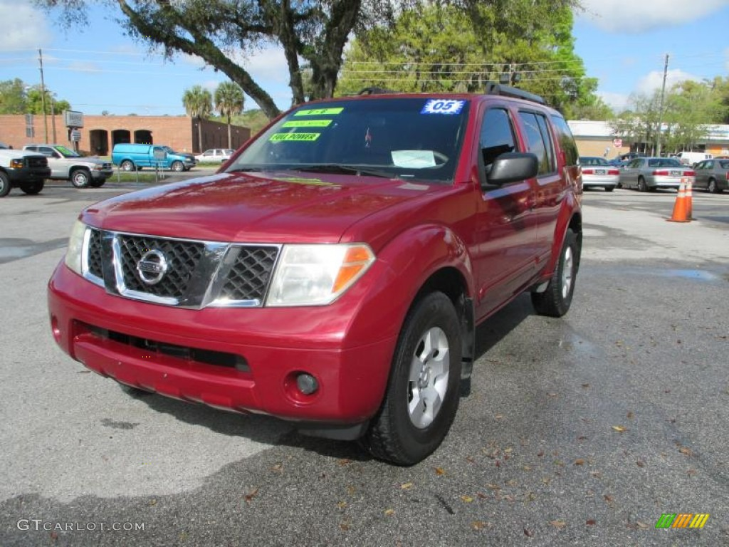 2005 red brawn pearl nissan pathfinder xe 91559087 photo. Black Bedroom Furniture Sets. Home Design Ideas