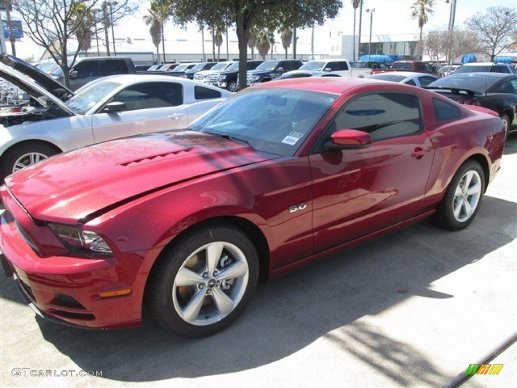 2014 ruby red ford mustang gt coupe 91598695 photo 2. Black Bedroom Furniture Sets. Home Design Ideas