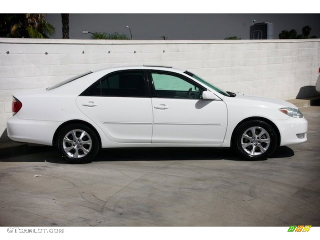 super white 2006 toyota camry xle v6 exterior photo. Black Bedroom Furniture Sets. Home Design Ideas