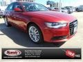 Garnet Red Pearl 2014 Audi A6 2.0T Sedan