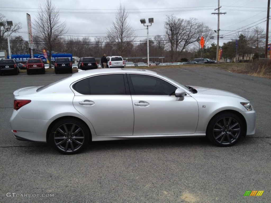 liquid platinum 2013 lexus gs 350 awd f sport exterior. Black Bedroom Furniture Sets. Home Design Ideas