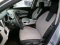 Jet Black/Light Titanium Front Seat Photo for 2010 Chevrolet Equinox #91614955