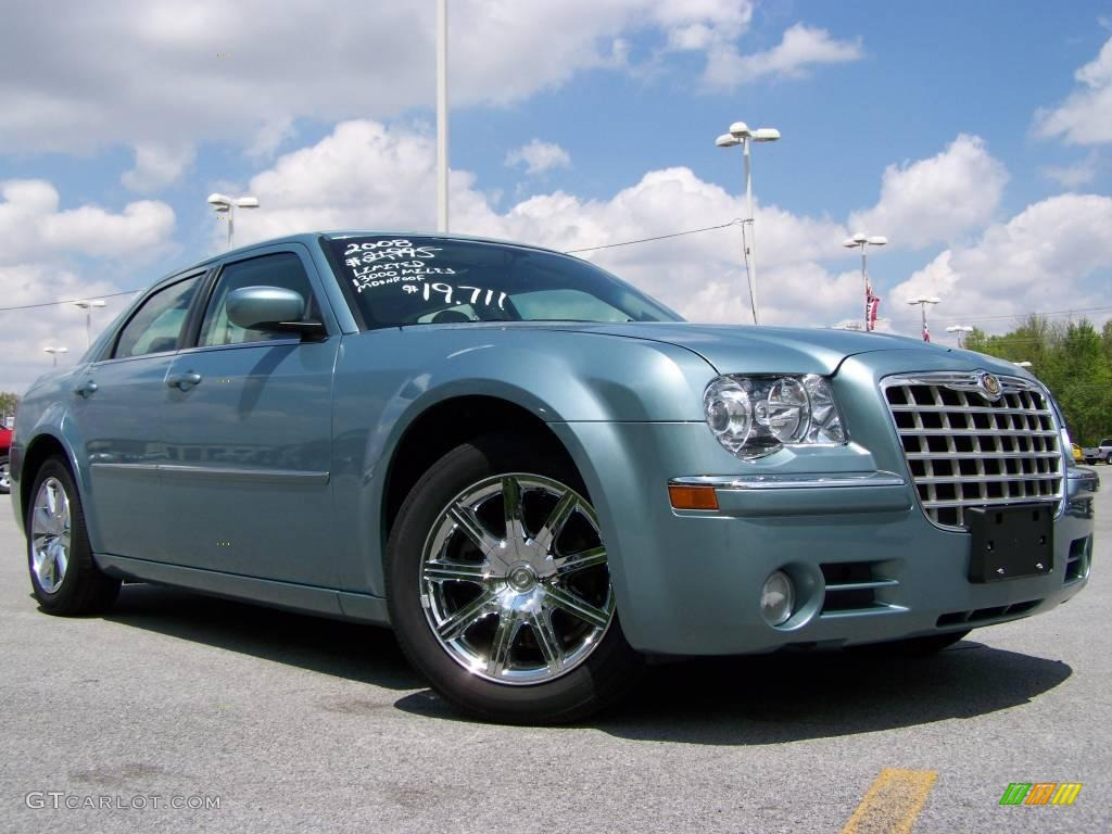 2008 Clearwater Blue Pearl Chrysler 300 Limited 9100814