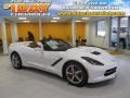 Arctic White 2014 Chevrolet Corvette Stingray Convertible