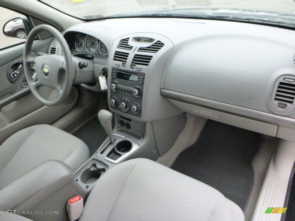 Titanium Gray Interior 2007 Chevrolet Malibu LS Sedan Photo #91622302