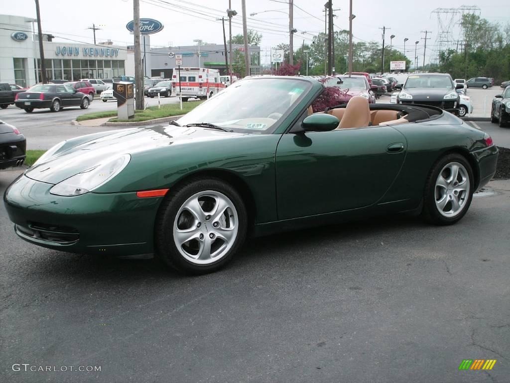 538491a3784f6f 2001 Rain Forest Green Metallic Porsche 911 Carrera 4