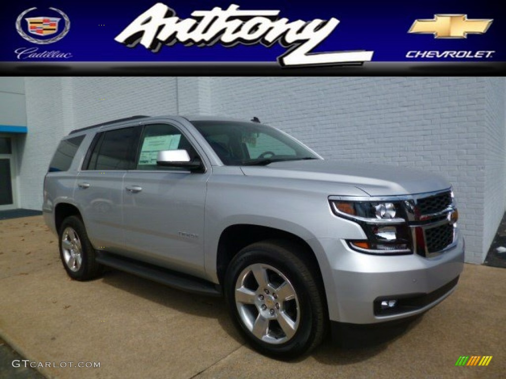 Cable Dahmer Used Cars 2015 Silver Ice Metallic Chevrolet Tahoe LT 4WD #91599186 Photo #16 ...