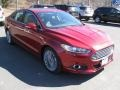 2013 Ruby Red Metallic Ford Fusion Titanium #91599173