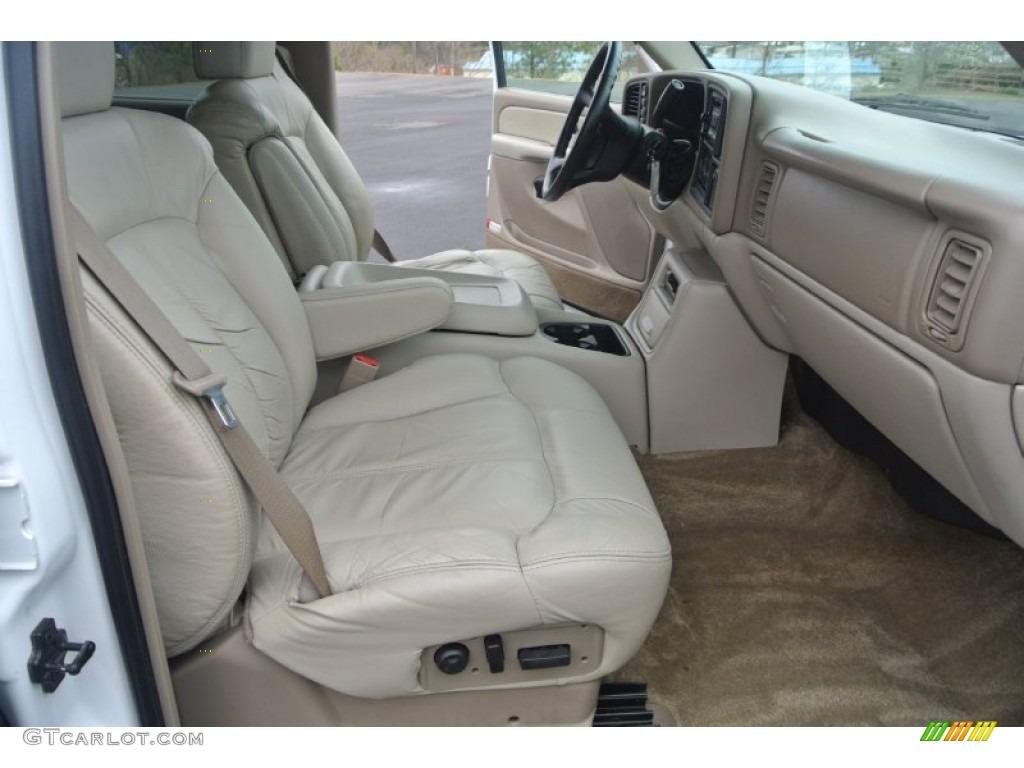 2002 Chevrolet Tahoe Lt 4x4 Interior Color Photos