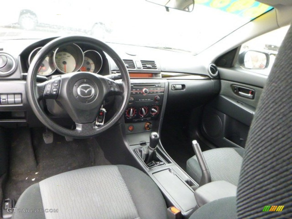 Beautiful Black Interior 2008 Mazda MAZDA3 I Touring Sedan Photo #91649000 Idea