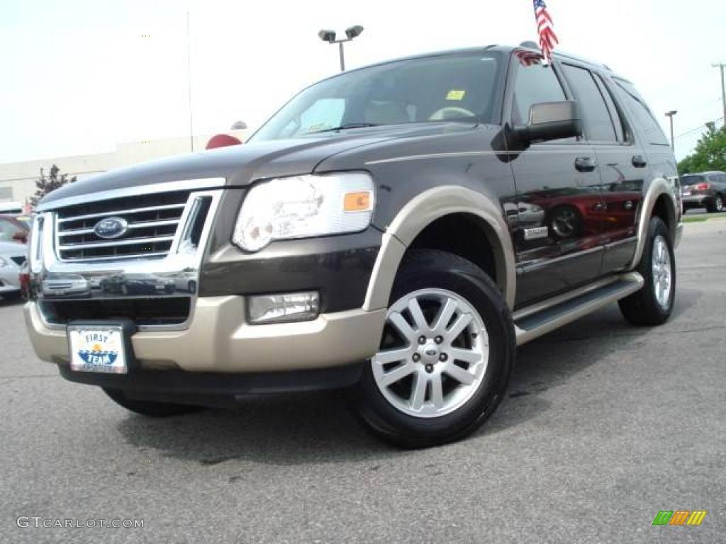 2006 Dark Stone Metallic Ford Explorer Eddie Bauer 9103983