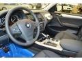 2014 BMW X3 Black Interior Interior Photo