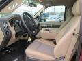 2014 Ford F250 Super Duty Adobe Interior Interior Photo