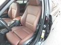 Terra/Black Dakota Leather 2007 BMW 3 Series Interiors