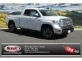 Super White 2014 Toyota Tundra Limited Double Cab 4x4