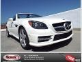 2014 Diamond White Metallic Mercedes-Benz SLK 250 Roadster #91642939
