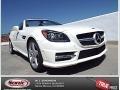 Diamond White Metallic 2014 Mercedes-Benz SLK 250 Roadster