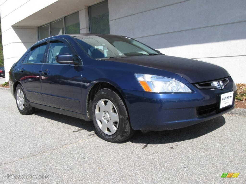 Exceptional Eternal Blue Pearl Honda Accord. Honda Accord LX Sedan