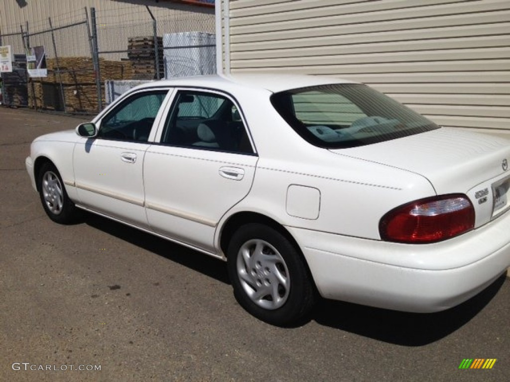 2001 glacier white mazda 626 lx 91642909 gtcarlot com car color galleries gtcarlot com
