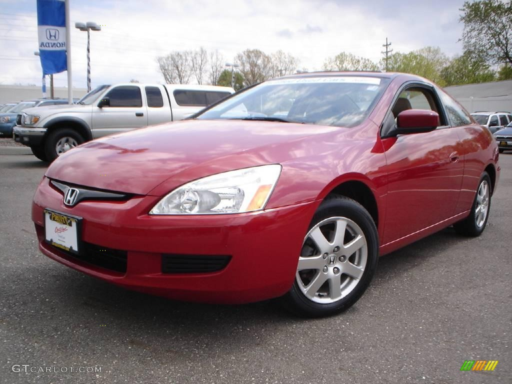 2005 Black Honda Accord Coupe V6 Lx Special Edition