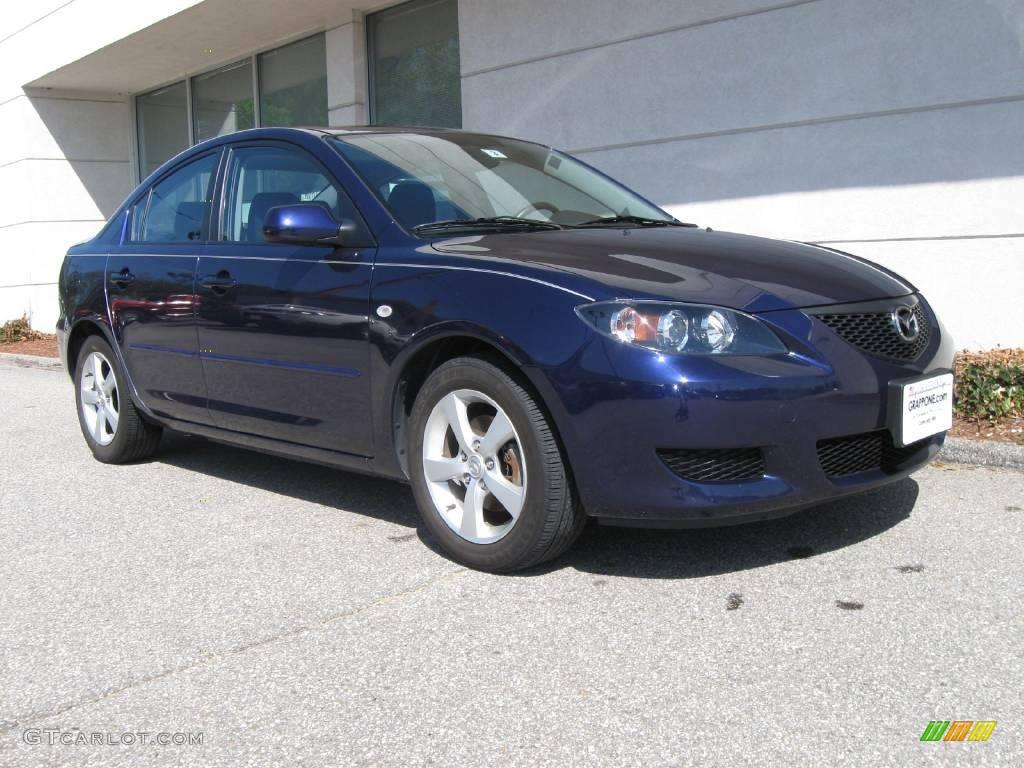 2006 Strato Blue Mica Mazda MAZDA3 i Sedan #9114151 ...