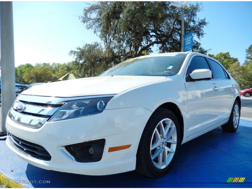 2012 white suede ford fusion sel 91704060 car color galleries. Black Bedroom Furniture Sets. Home Design Ideas