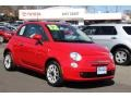 Rosso Brillante (Red) 2012 Fiat 500 Pop