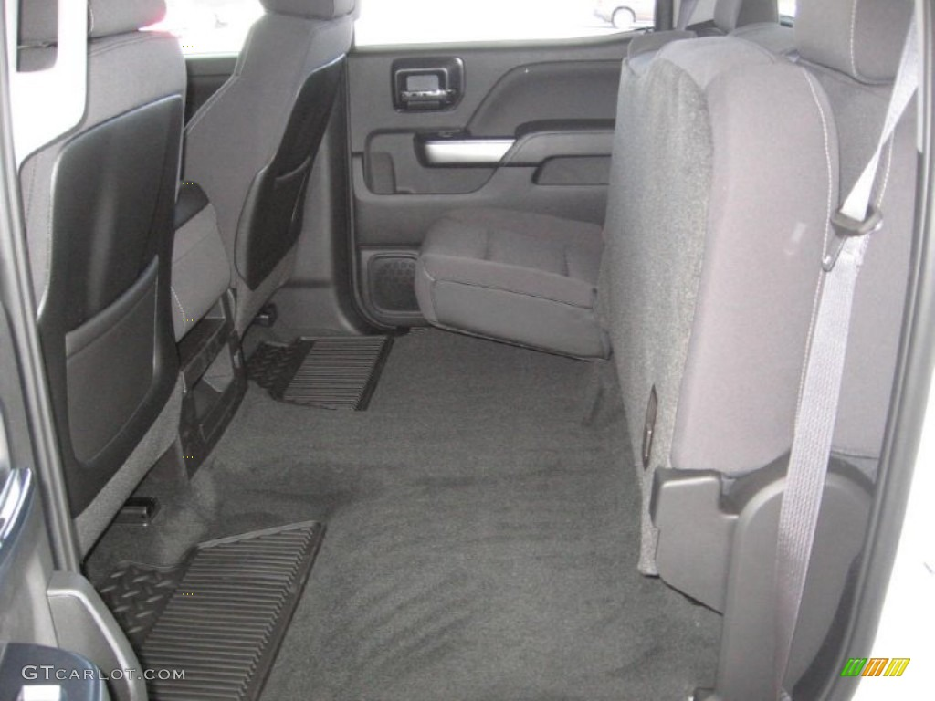 2015 Chevrolet Silverado 2500hd Lt Crew Cab Rear Seat Photo 91715884